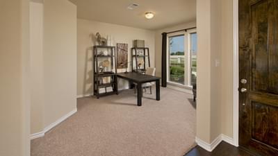 Flex Room - The Guadalupe Model in San Marcos Design Center Tilson Custom Home Photo