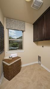 Utility Room - The Guadalupe Model in San Marcos Design Center Tilson Custom Home Photo