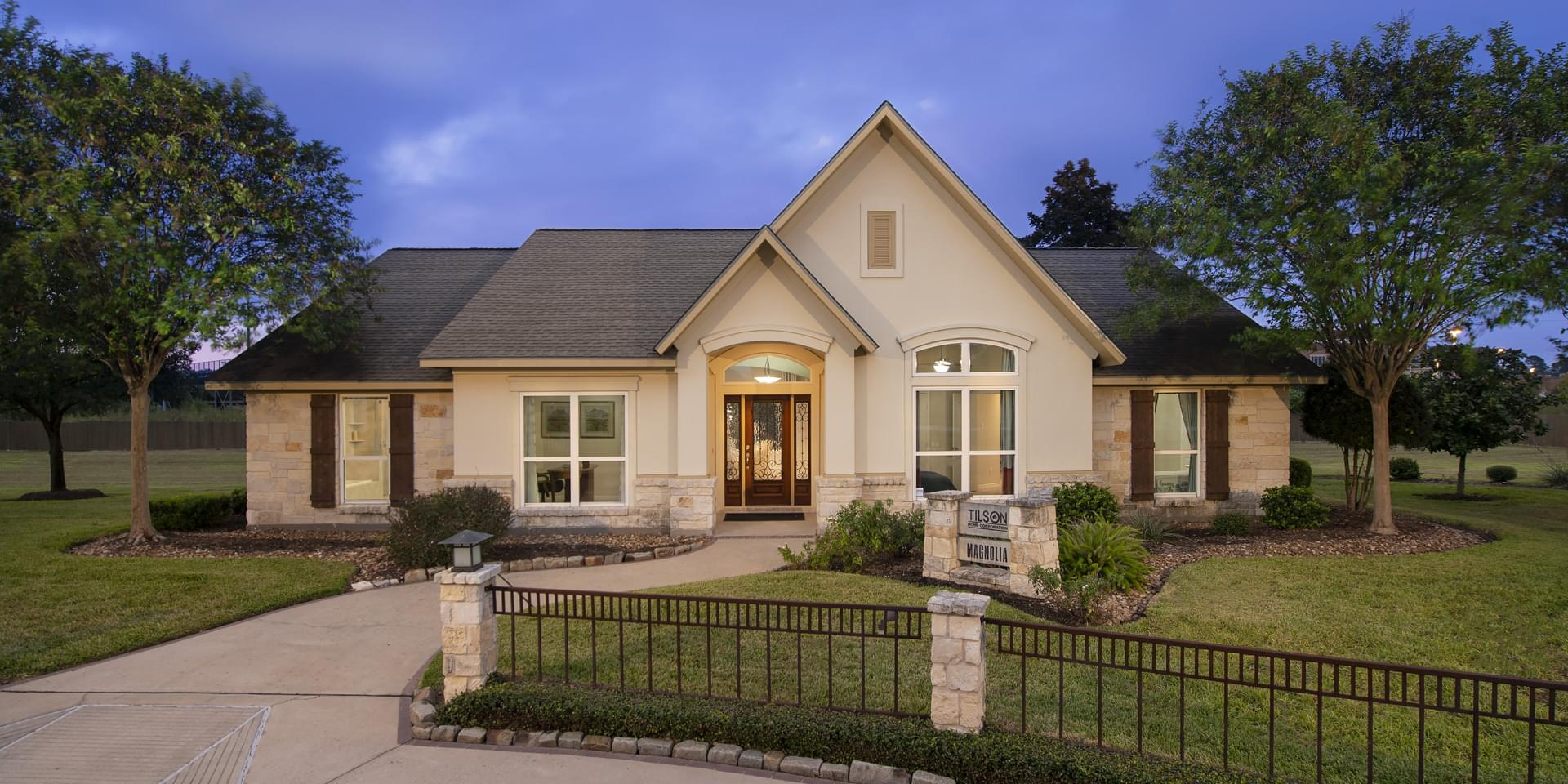 The Magnolia Custom Home Plan from Tilson Homes