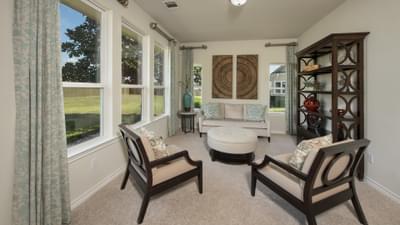 Flex Room - The Magnolia Model in Katy Design Center Tilson Custom Home Photo
