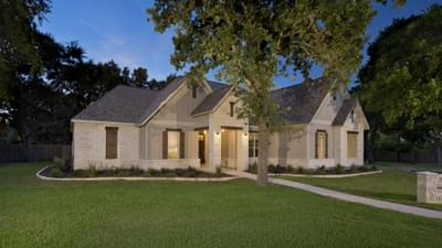 Wimberley Model in Boerne Design Center Tilson Custom Home Photo