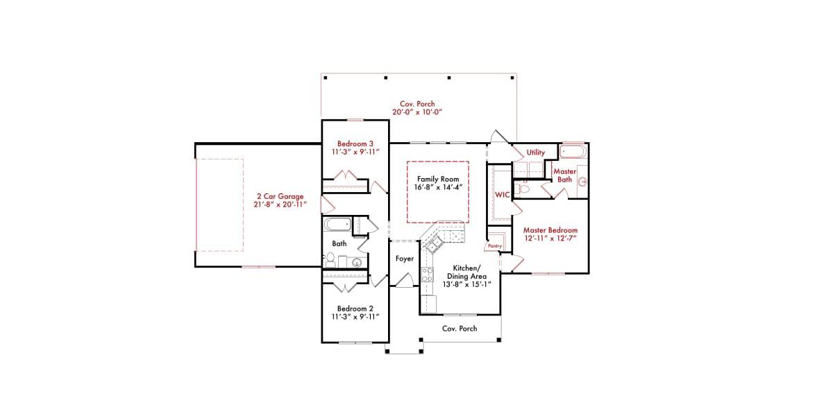 Interactive Floorplans Tilson Custom