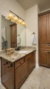 Bathroom 2 - Fayetteville Model in Waxahachie Design Center Tilson Custom Home Photo