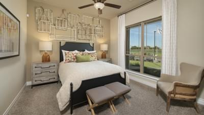 Bedroom 3 - Fayetteville Model in Waxahachie Design Center Tilson Custom Home Photo