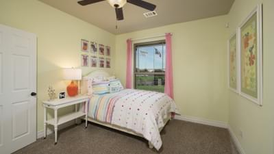 Bedroom 2 - Fayetteville Model in Waxahachie Design Center Tilson Custom Home Photo