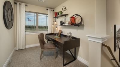 Optional Upstairs Bonus Room - Fayetteville Model in Waxahachie Design Center Tilson Custom Home Photo
