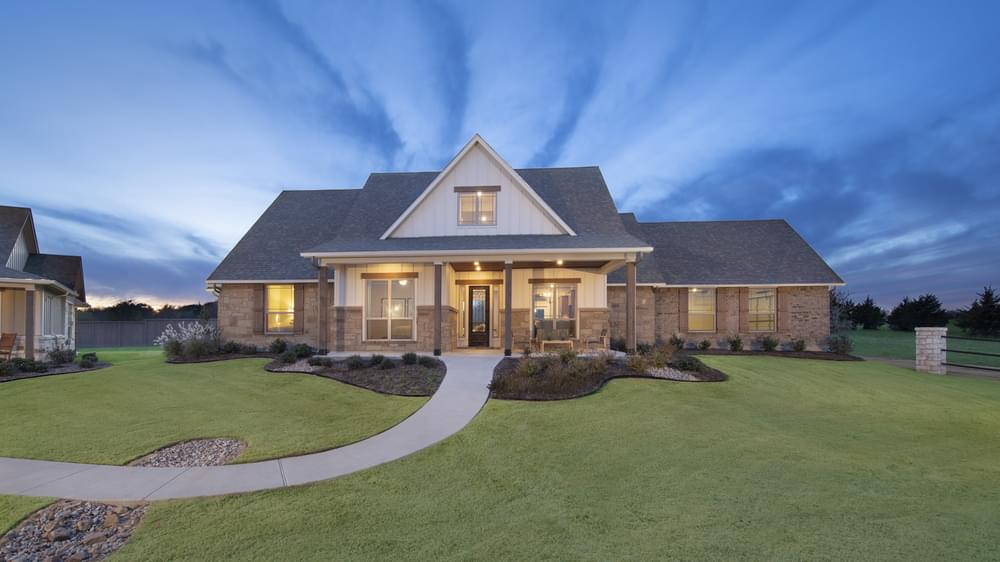 Fayetteville Model Home in Waxahachie Texas
