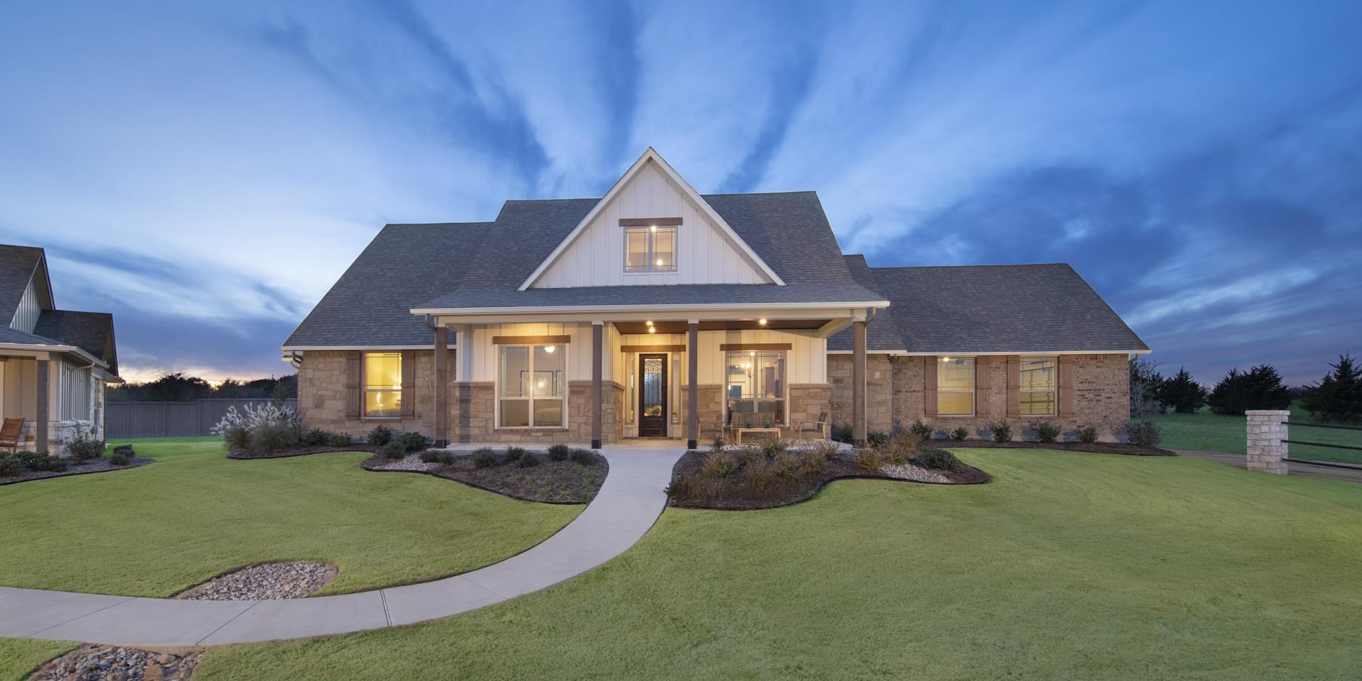 The Fayetteville Custom Home Plan from Tilson Homes