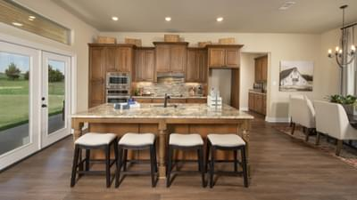Kitchen - Fayetteville Model in Waxahachie Design Center Tilson Custom Home Photo