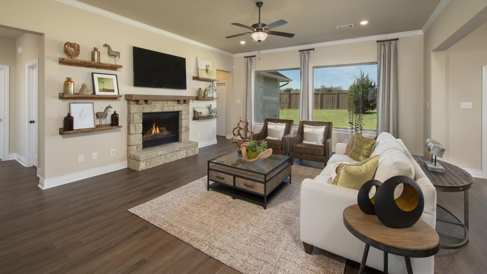 The Fayetteville Model in Waxahachie Texas Custom Home Photo