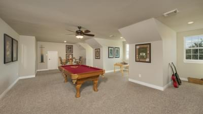 Optional Upstairs Bonus Space - Fredericksburg Model in Katy Design Center Tilson Custom Home Photo
