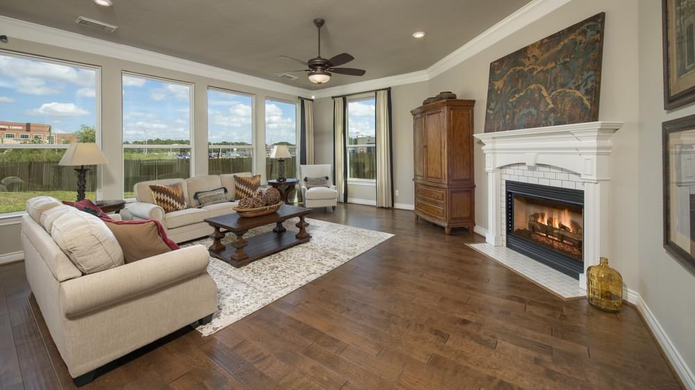 The Fredericksburg Model in Katy Texas Custom Home Photo