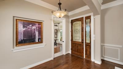 Foyer - Fredericksburg Model in Katy Design Center Tilson Custom Home Photo