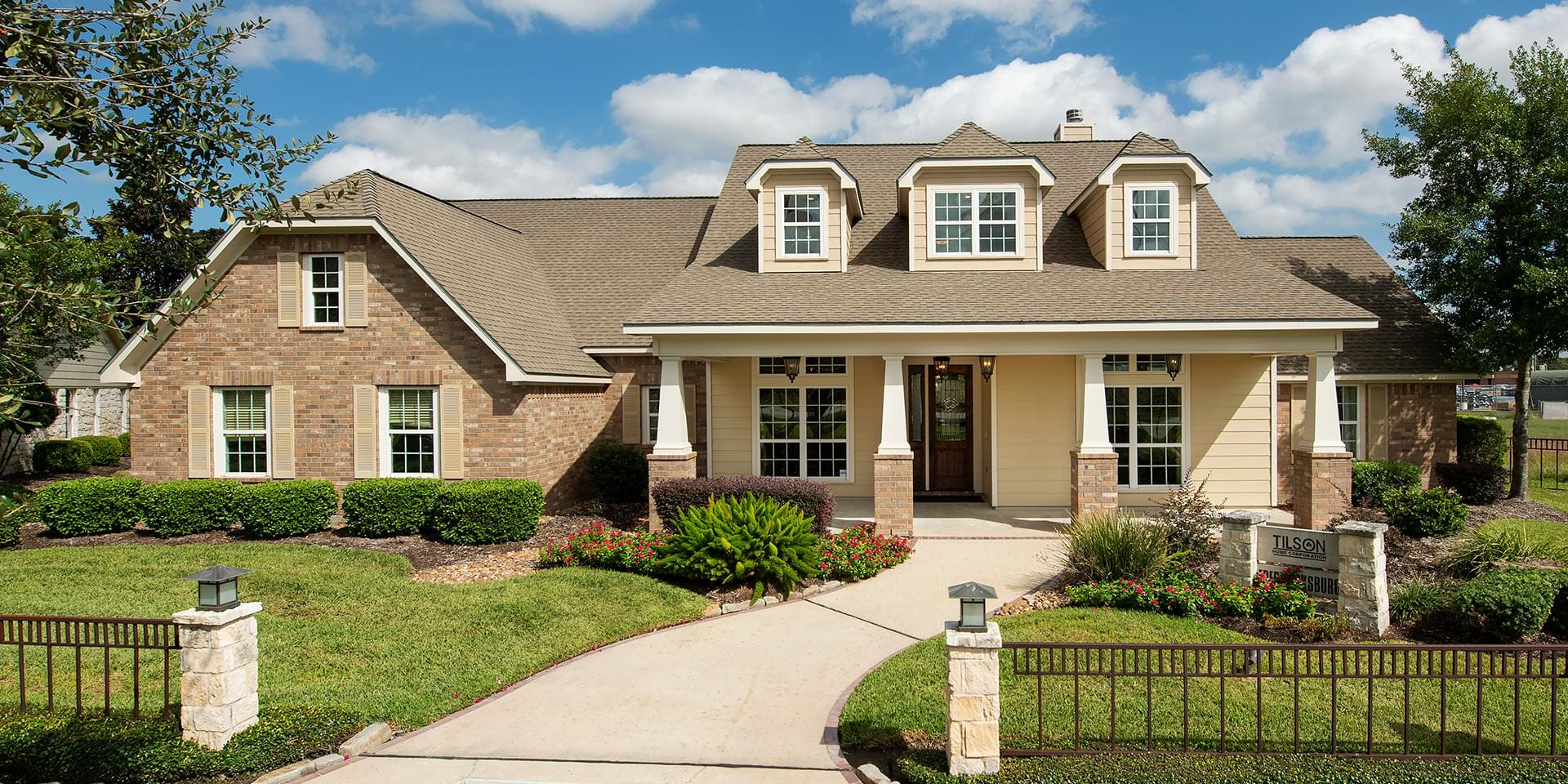 The Fredericksburg Custom Home Plan from Tilson Homes