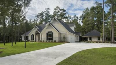 La Salle Model with Separate Casita in Huntsville Design Center  Tilson Custom Home Photo