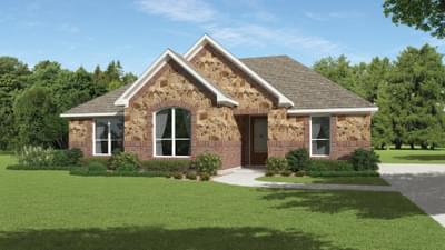 Elevation E - The Crockett Tilson Custom Home Photo