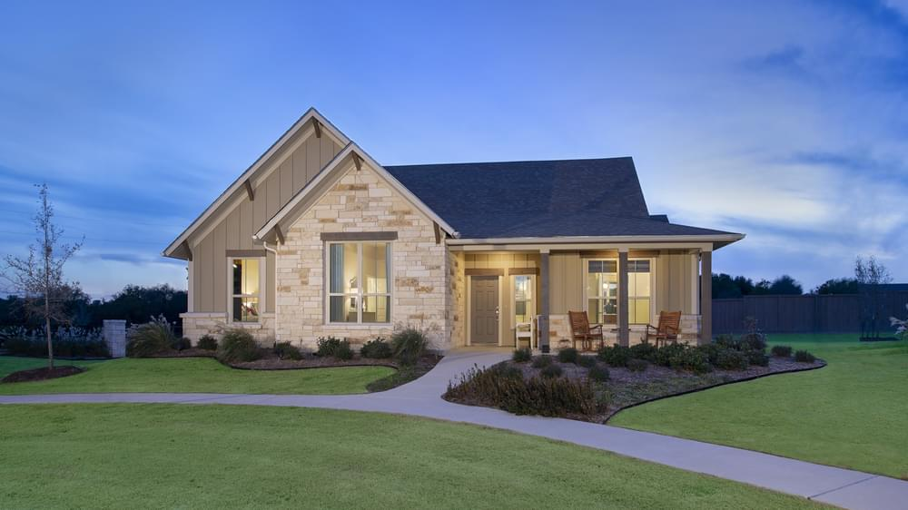 Whitney Model Home in Waxahachie Texas