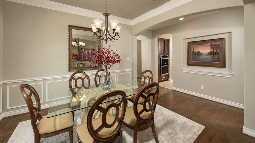 The Fredericksburg Model in Katy Texas Custom Home Photo