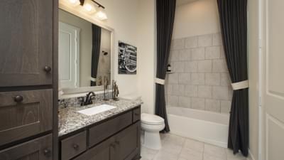 Bathroom 2 - La Salle Model in Huntsville Design Center Tilson Custom Home Photo