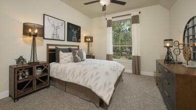 Bedroom 3 - La Salle Model in Huntsville Design Center Tilson Custom Home Photo
