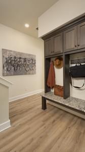 Drop Zone - La Salle Model in Huntsville Design Center Tilson Custom Home Photo