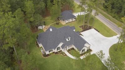La Salle Model with Separate Casita in Huntsville Design Center Tilson Custom Home Photo