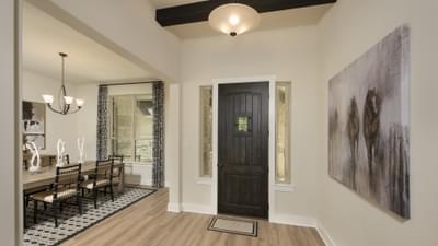 Foyer - La Salle Model in Huntsville Design Center Tilson Custom Home Photo