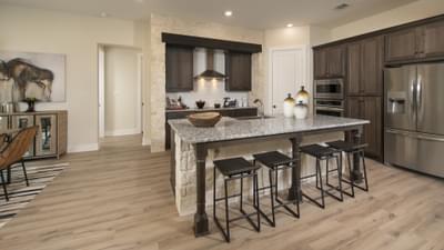 Kitchen - La Salle Model in Huntsville Design Center Tilson Custom Home Photo