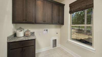 Utility Room - La Salle Model in Huntsville Design Center Tilson Custom Home Photo