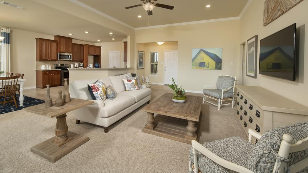 The Whitney Model in Waxahachie Texas Custom Home Photo