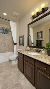 Bath 2 - Breckenridge Model in Weatherford Tilson Custom Home Photo