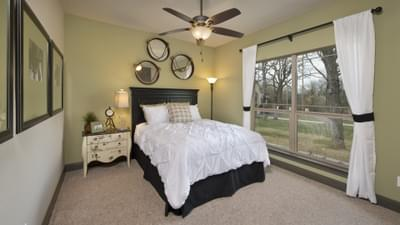 Bedroom 3 - Breckenridge Model in Weatherford Tilson Custom Home Photo