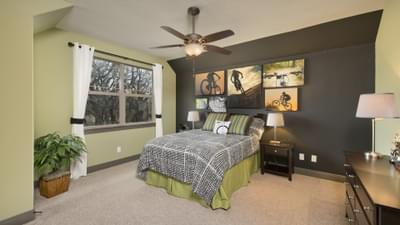Optional Upstairs Bedroom - Breckenridge Model in Weatherford Tilson Custom Home Photo