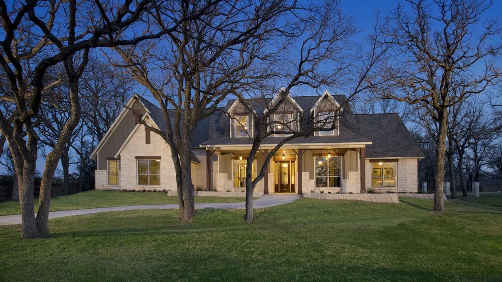 Breckenridge Model Home in Weatherford Texas