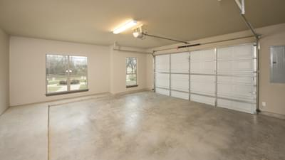 Attached 2 Car Garage - Breckenridge Model in Weatherford Tilson Custom Home Photo