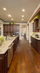 Kitchen - Breckenridge Model in Weatherford Tilson Custom Home Photo