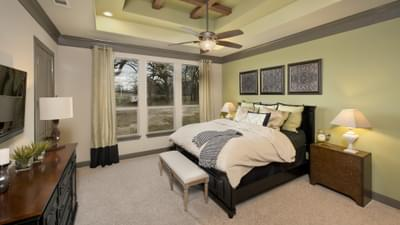 Master Bedroom - Breckenridge Model in Weatherford Tilson Custom Home Photo