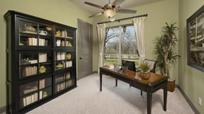 Study - Breckenridge Model in Weatherford Tilson Custom Home Photo