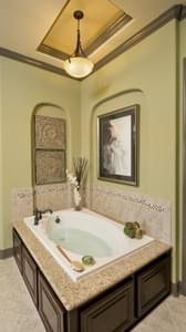 Master Tub Area - Breckenridge Model in Weatherford Tilson Custom Home Photo