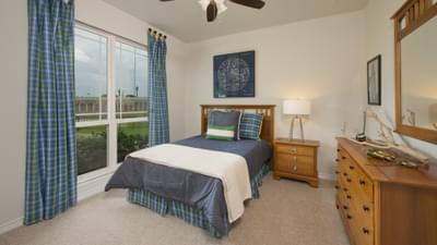 Bedroom 3 - Bridgeport Tilson Custom Home Photo