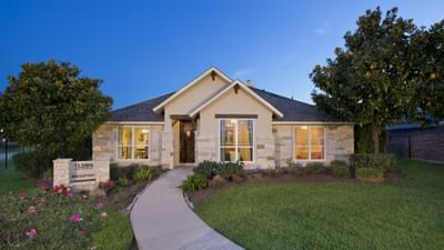 Elevation D - Bridgeport Tilson Custom Home Photo