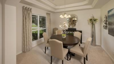 Dining Room - Bridgeport Tilson Custom Home Photo