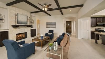 Family Room - Bridgeport Tilson Custom Home Photo