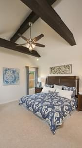 Master Bedroom - Bridgeport Tilson Custom Home Photo