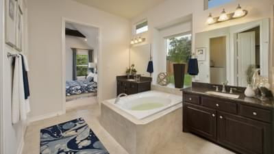 Master Bathroom - Bridgeport Tilson Custom Home Photo