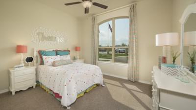 Bedroom 2 - Crockett Model in McKinney Tilson Custom Home Photo