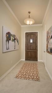 Foyer - Crockett Model in McKinney Tilson Custom Home Photo