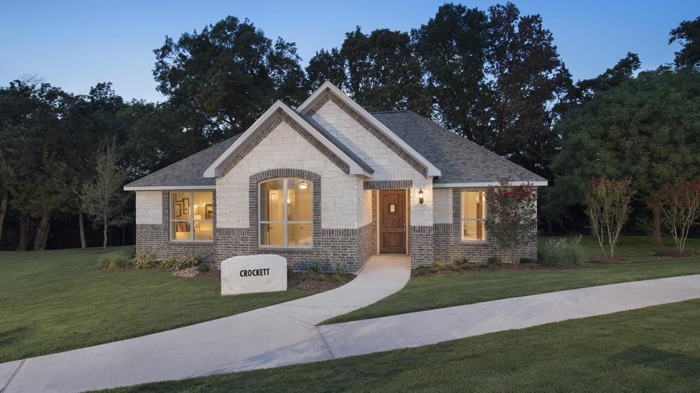 Crockett Model Home in Melissa Texas