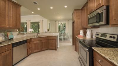 Kitchen - Crockett Model in McKinney Tilson Custom Home Photo