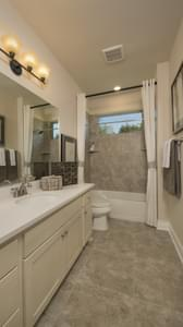 Bathroom 2 - Driftwood Model in Georgetown Design Center Tilson Custom Home Photo